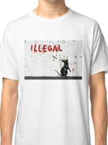 Fitzrovia Rat by Banksy Classic T-Shirt