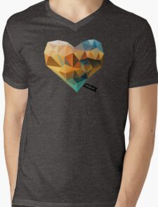 Vector Love 03 Mens V-Neck T-Shirt