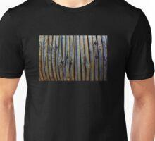 Wooden textured background Unisex T-Shirt