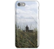 Church through the dunes iPhone Case/Skin