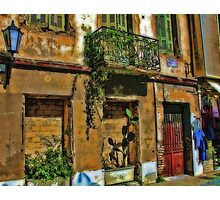 Athens Greece Old Building Photographic Print