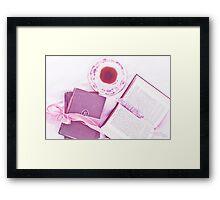 Tea with Twain Framed Print