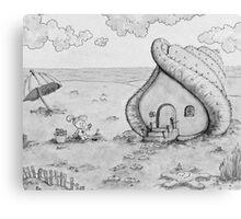 So fun to Collect Seahouses! Canvas Print