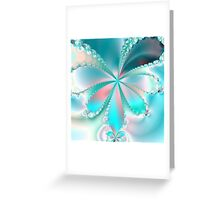 MOTHER OF PEARL BUTTERFLY Greeting Card