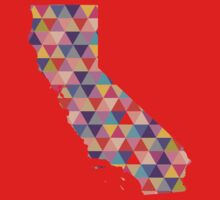 California Love - Colorful Triangles Kids Clothes