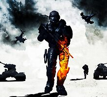 Battlefield Bad Company 2 - Chief Style by The5thHorseman