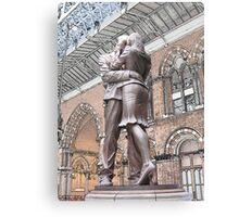 St Pancras : Meeting Place Canvas Print