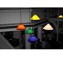 Colorful Lights Photographic Print