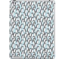 Penguin crowds iPad Case/Skin