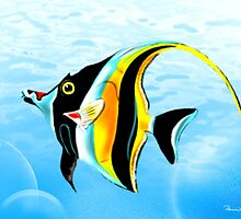 1 Moorish idol by Patricia Anne McCarty-Tamayo