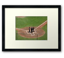 Home Plate Pow-Wow Framed Print