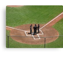 Home Plate Pow-Wow Canvas Print