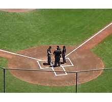 Home Plate Pow-Wow Photographic Print