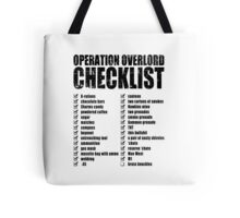 Operation Overlord Checklist Tote Bag