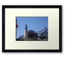 Home Turf Framed Print
