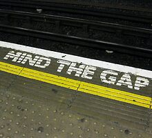 Mind the Gap! by jtalia