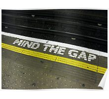 Mind the Gap! Poster