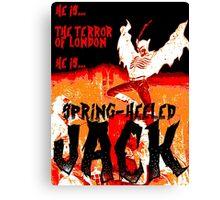 Spring Heeled Canvas Print