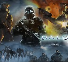 Halo The Universe Remembrance  by The5thHorseman