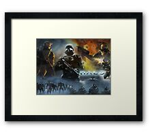 Halo The Universe Remembrance  Framed Print