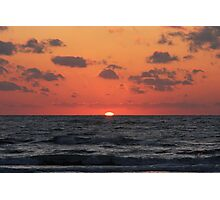 Sunset of the Gulf Photographic Print