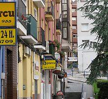 Quiet Boulevard, Santander, Spain by jtalia