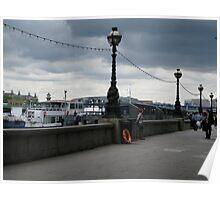 The River Thames in Color Poster