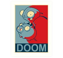 "GIR Doom- ""Hope"" Poster Parody Art Print"