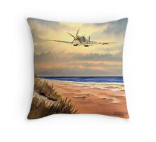 Spitfire MK 9  Throw Pillow