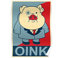"""Waddles Oink- """"Hope"""" Poster Parody Poster"""