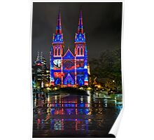 VIVID - St Marys Cathedral Poster