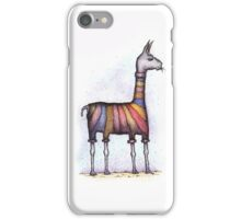 llamas get cold iPhone Case/Skin