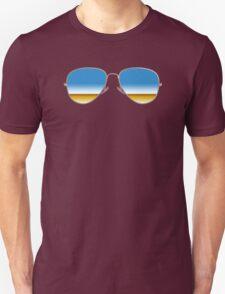 Mirrored Sunglasses Unisex T-Shirt