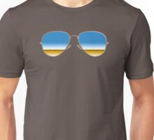 Mirrored Sunglasses Unisex T-Shirt