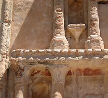 Tumacacori Columns and Capitals by Michael Cohen