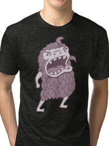 Sasquatch knows his manners Tri-blend T-Shirt