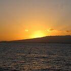Hawaiian Sunset by jtalia