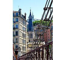 From a bridge in Lyon Photographic Print