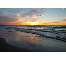 Pinery Sunset, Ontario Photographic Print