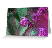 Pink Mystery Greeting Card