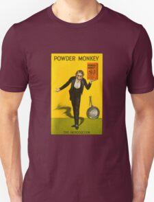 Vintage Powder Monkey Advert T-Shirt