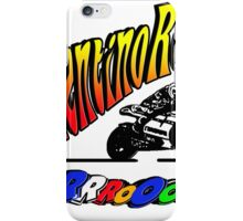 vr vroom iPhone Case/Skin