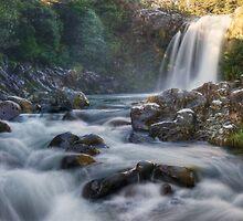 Tawhai falls 3 by Paul Mercer