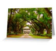 Path to Plantation  Greeting Card