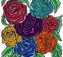 A Rose by Any Other Name, Art by Lindsay Carpenter by Lindsay Carpenter