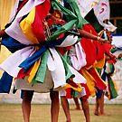 partners. tsechu chaam, dehra dun. by tim buckley | bodhiimages