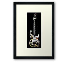 steam powered music Framed Print