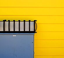 the yellow wall by Lynne Prestebak