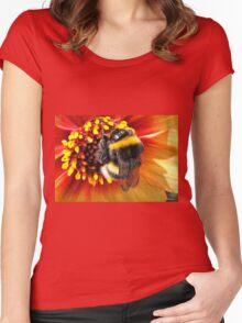 Honey Bee Women's Fitted Scoop T-Shirt
