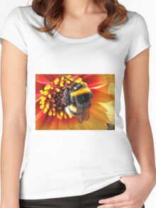 Honey Bee Women's Fitted Scoop T-Shirt